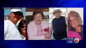 Four of the five victims who were fatally shot.